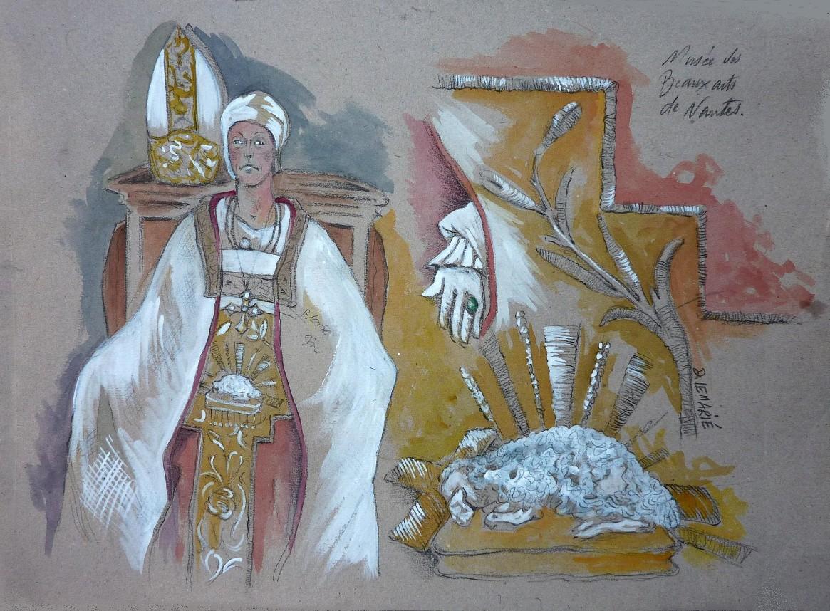 Dessin de Dominique Lemarié