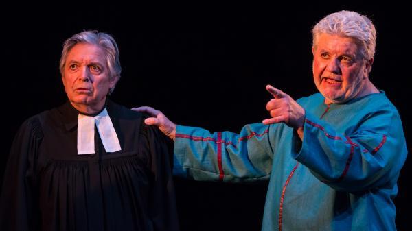 Révérend John Parris (PierrevJosse) et Thomas Putnam (Dominique Douet)
