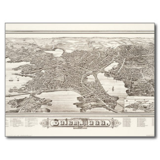 Carte de salem ville (port)