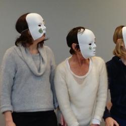"""""""le masque esthétisé comme marque d'appartenance"""""""