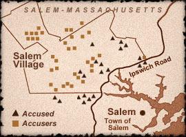 Salem accuses et accusateurs